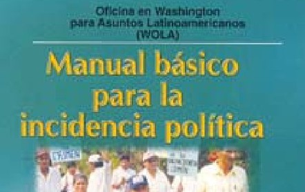 Manual básico para la incidencia política